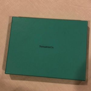 Tiffany & Co. Party Supplies - TIFFANY & CO. Rectangle Storage Gift Box 8x6x1""